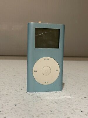 Apple iPod Mini 1st Generation, 4g,  MODEL A1051 Blue,