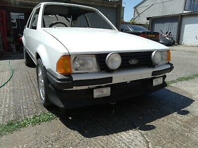1983 Ford Escort RS1600i Project