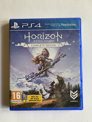 Horizon Zero Dawn Complete Edition Ps4 PlayStation 4 (Sealed)