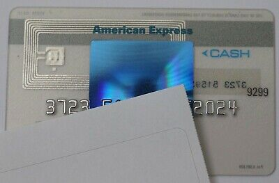 Expired American Express Blue Cash Credit Card Bank Mint