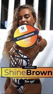 Byrokko shine brown tanning sunbed cream  can be used indoors &outdoors