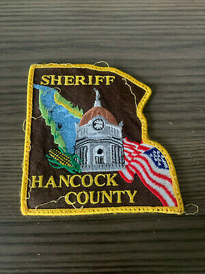 Hancock County, Illinois Sheriff's Patch
