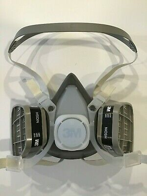 3M 53P71 Half Face Respirator, LARGE, BRAND NEW, APRIL 2020 STOCK