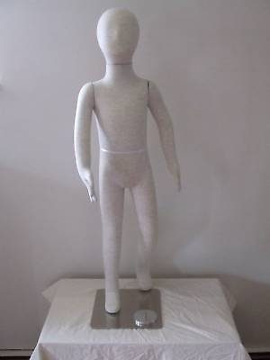 Child Flexible Bendable Fullbody Form 7 years,Mannequin