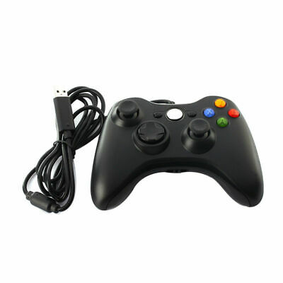 Xbox 360 Wired USB Game Controller Joystick Gamepad Support PC WII PS3 Microsoft