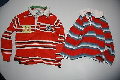 Bundle boys rugby tops (2 items) - Age 5 to 6 years