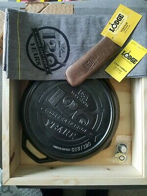 Lodge cast iron 120th anniversary pan 18/120 only 120 produced