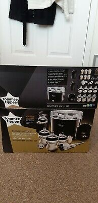 Tommee Tippee Closer To Nature Complete Feeding Set Steriliser