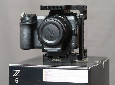 Nikon Z6 24.5MP Mirrorless Digital Camera with FTZ Mount Adapter,  PRO RES RAW