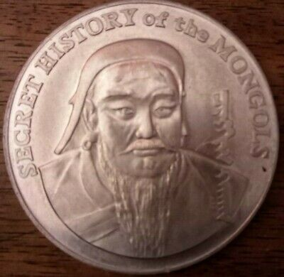 Medaille Secret History Of The Mongols