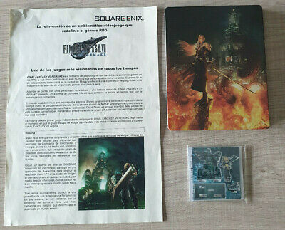 Final Fantasy VII Remake Press kit Edition - EXCLUSIVE & LIMITED