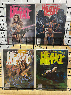 Heavy Metal Magazine March July September & November 1994 Lot of 4 Issues