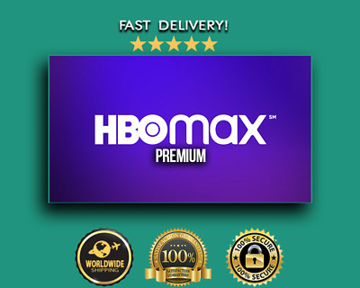 HBO Max Premium Subscription | 2 Year Warranty | Fast Delivery