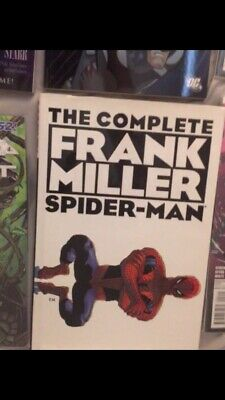 The Complete Frank Miller Spider-Man Hard Cover  Preowned  Very Fine Condition
