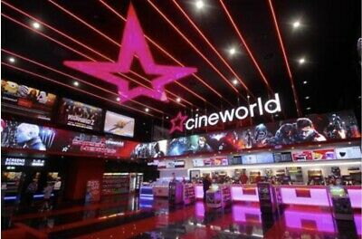6 X Cineworld Cinema Tickets From Club Lloyds (Expiry 01/11/2020)