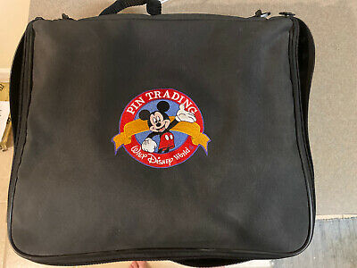 Disney Official Walt Disney World Pin Mickey Mouse Trading Bag