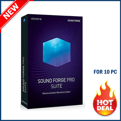 MAGIX SOUND FORGE Pro Suite 14 ✔️ Full Version✔️Life-time ✔️ Key ✔️ Delivery 30s