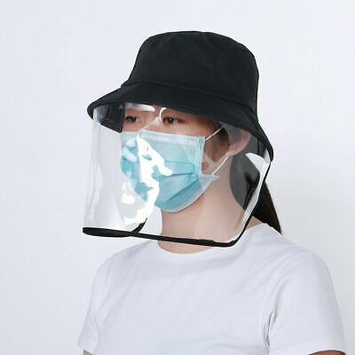 Fisherman Full Face Mask Safety Shield Reusable Hat Protecttion Anti Saliva Wash