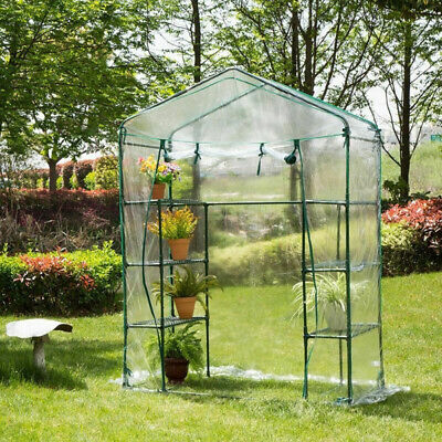 Waterproof Tomato Growbag Growhouse Mini Outdoor Garden Greenhouse PVC Cover