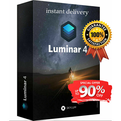 Limited Offer Price - Luminar v4 2020 Full Software ✔️ FAST DELIVERY 🔥🔥