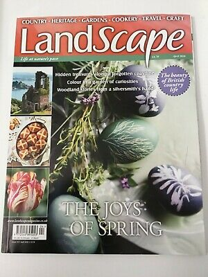 Landscape Magazine April 2020 Issue. Read Once.
