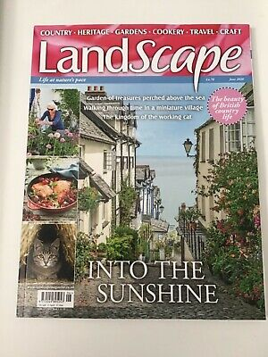 Landscape Magazine June 2020 Issue. Read Once.