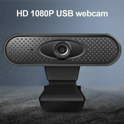 Full HD 1080P Webcam USB PC Computer Camera with Microphone Driver-free UK