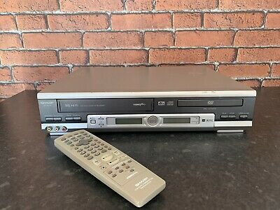 SHARP DV-NC70 DVD VHS VCR VIDEO COMBI COMBO PLAYER Checked & Tested Working