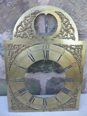 Longcase clock dial parts - 18th century................