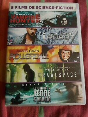 dvd 5 films de science-fiction
