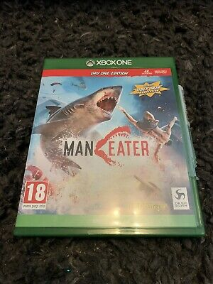Xbox One Game Man Eater Day One Edition **still Has DLC**
