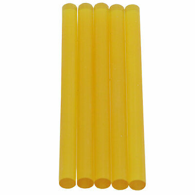 "44588M54 Mini Size 4"" Polyamide High Strength Amber Color Glue Stick - 5 lb Box"