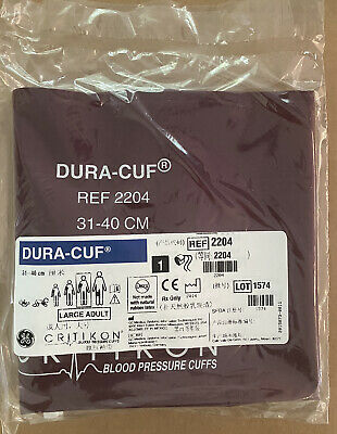 GE DURA-CUFF 31-40cm REF 2204 LARGE ADULT LOT of 5 NEW