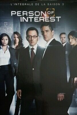 Coffret DVD complet de la saison 3 de la série PERSON OF INTEREST