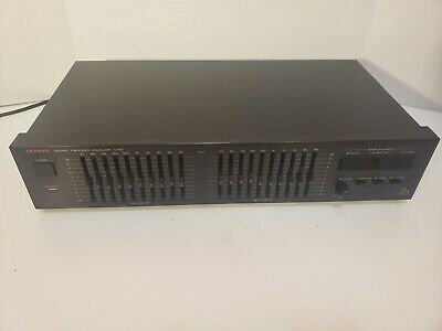 LUXMAN G-100 1987 Vintage Analog Stereo Equalizer / Great working Condition