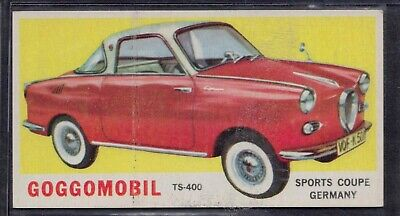 1965 Topps Goggomobil Card...ex-Mint Or Better Rare Psa ?