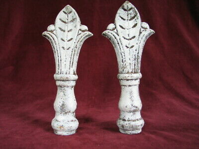 Antique Cast Iron Fence Finials  in VERY GOOD CONDITION