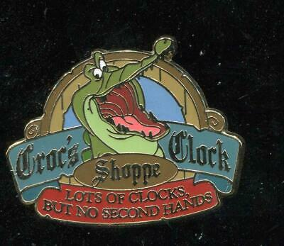 Pirates of the Caribbean Collection Croc's Clock Shoppe GWP Disney Pin 50446