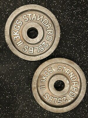 Standard Olympic Weights | Two (2) 25 LBS Plates