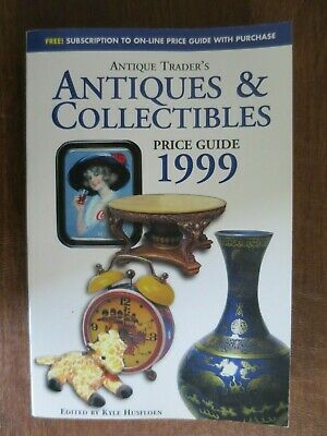 Antique Trader - 199 Antiques & Collectibles Price Guide Book - Annual Edition