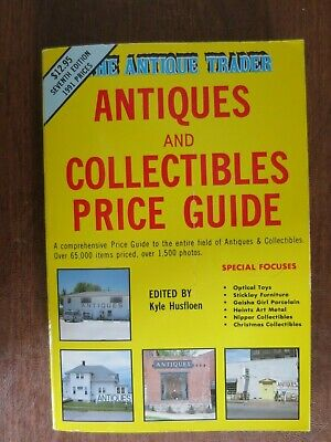 Antique Trader -Antiques & Collectibles Price Guide Book - 1991 Seventh Edition