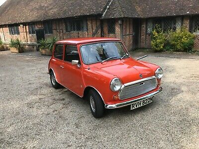 Classic Morris Mini, 1974 , Under 6000 Original Miles From New. Immaculate.