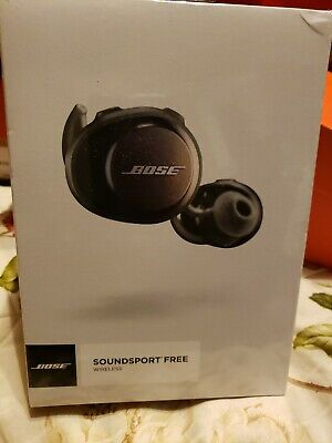 Authentic Bose SoundSport Free Wireless Sport Earphones New Factory Sealed