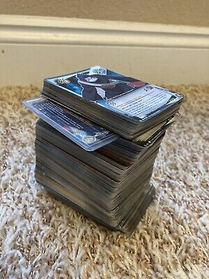 Huge Lot Of NARUTO Trading Cards All Foil Super Rare Gold Text Wavy Prism