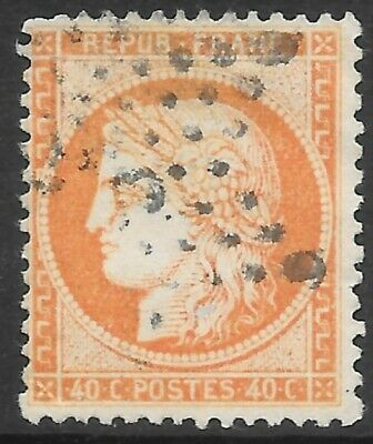 France 1870 Ceres - Perforated, 40c Individual Stamp.