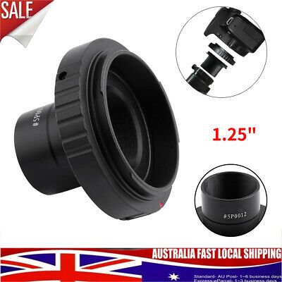 T SLR Ring For Canon Camera Adapter+1.25inch Telescope Mount Adapter Quality New