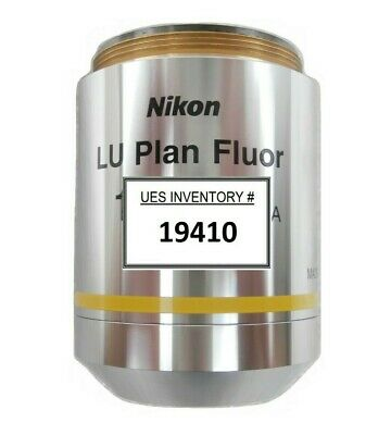 Nikon MUE41100 Microscope Objective LU Plan Fluor 10x/0.30 A ∞/0 BD Working