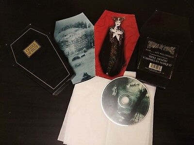 Cradle Of Filth - Dusk and her Embrace Ltd. box coffin - RARE sratched CDMFNC208