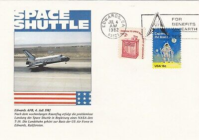 Usa Space Shuttle Fdc 04.07.1982