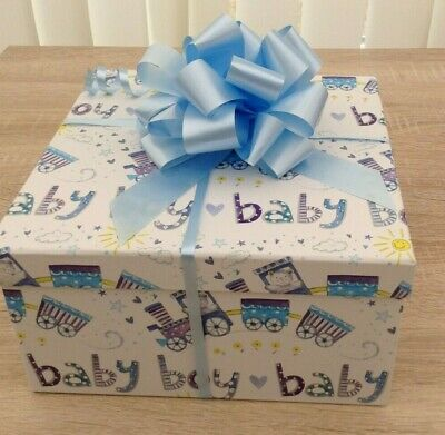 Lovely Baby Boys Hamper, Gift Set, Baby Shower, Welcome Baby Present